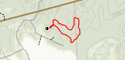 Forked Pine Nature Trail Map