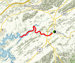 South Fork Holston River Map