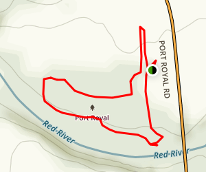 River Bottom Trail  Map