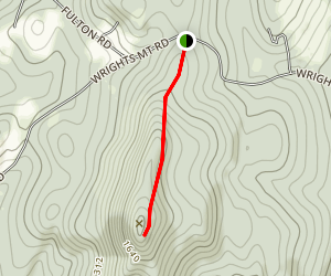 Wrights Mountain Trail Map