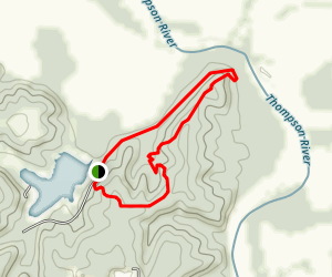 River Fork Trail Map