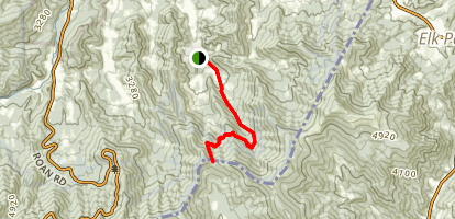 Overmountain Victory Trail: Hampton to Yellow Mountain Gap Map