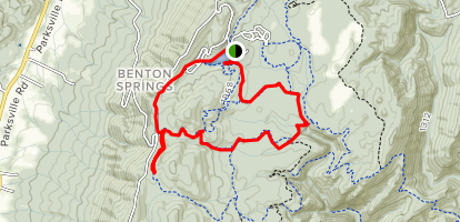 Slick Rock Hancock Loop Trail Map