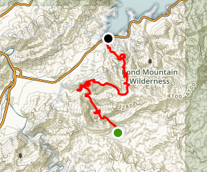 Appalachian Trail: Dennis Cove to Watauga Lake Map