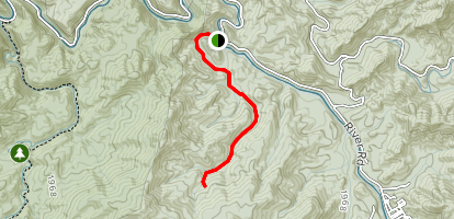 Panther Branch Trail Map