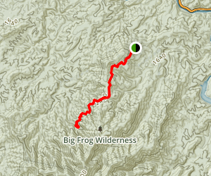 Grassy Gap Trail Map