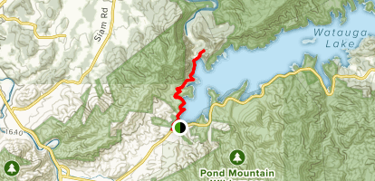 Appalachian Trail: Oliver Hollow Road to Watuga Dam - Tennessee ...