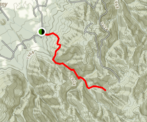 David Creek Trail Map