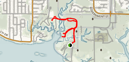 Gulf Islands National Seashore Trail Map