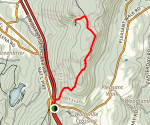 Annapolis Rock Trail Map