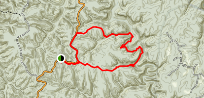 Wildcat Trail Loop Map