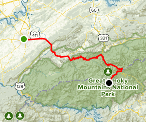 Great Smoky Mountains Scenic Drive: Maryville to Clingmans ...