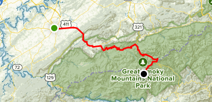 Great Smoky Mountains Scenic Drive: Maryville to Clingmans Dome ...