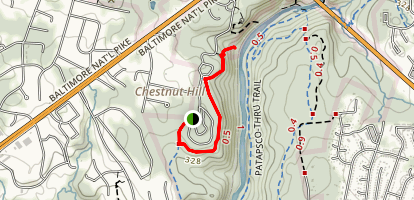 River Ridge Trail Map