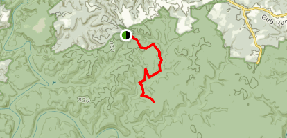 Wet Prong Trail Map