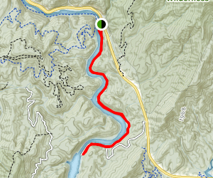Old Copper Road Trail Map