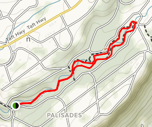 Green Gorge Trail Map
