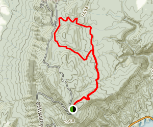 Slick Rock Trail Loop Map