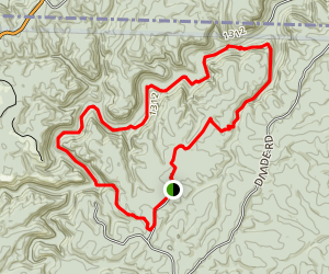 Rock Creek Loop Map