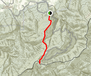 Maple Spring Fire Trail Map