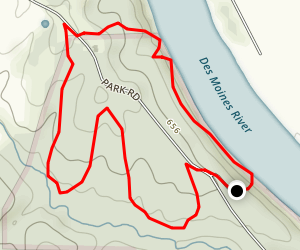 Gate House Trail Loop Map