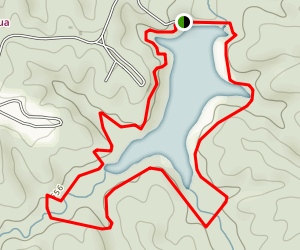 Lake Trail Loop Map
