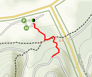 Hungry Hawk Trail Map