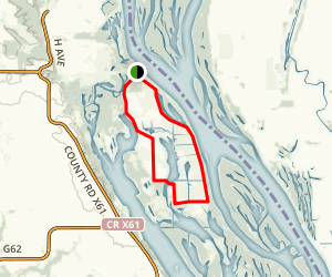 Little Fox Pond Loop Trail Map