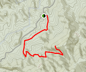 Old Dug Trail Map