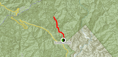 Bradley Fork Trail Map