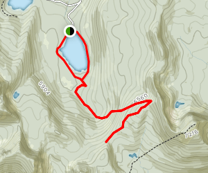 Big Therriault Lake to Therriault Pass Loop Map