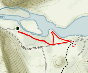 Home Gulch Campground Map