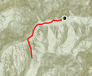 South Fork Ross Creek Trail Map