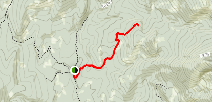 Upper Smith Creek Trail Map