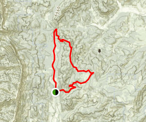 Grassy Mountain Loop Map