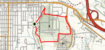 Highland Ridge Trail Loop Map