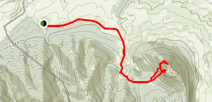 Wolf Butte Map
