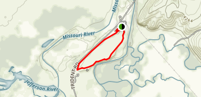 Missouri Headwaters Loop Map