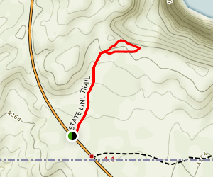 State Line Trail Map
