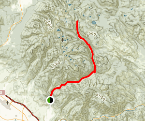 Rattlesnake Trail Map
