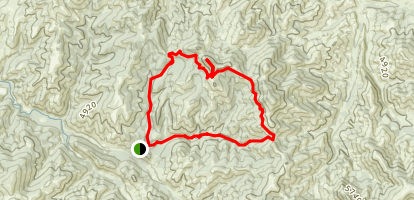 Windy Mountain Loop Map