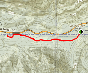Bannock Ski Trail Map