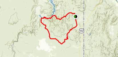 Owyhee River Canyons Map