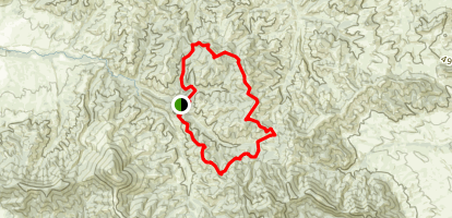 Highwood Mountains Loop Trail Map