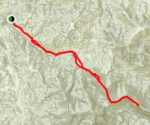 East Peak Ridge Map