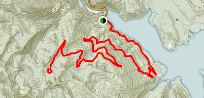 Hungry Horse Reservoir Map