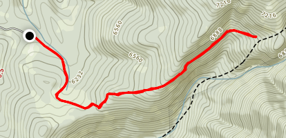 Livingston Peak Trail Map