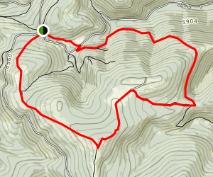 Stemple Pass Map