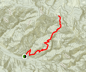 Telephone Ridge Trail Map