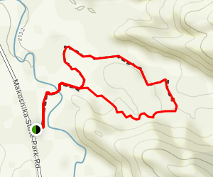 Diane Gabriel Trail Map